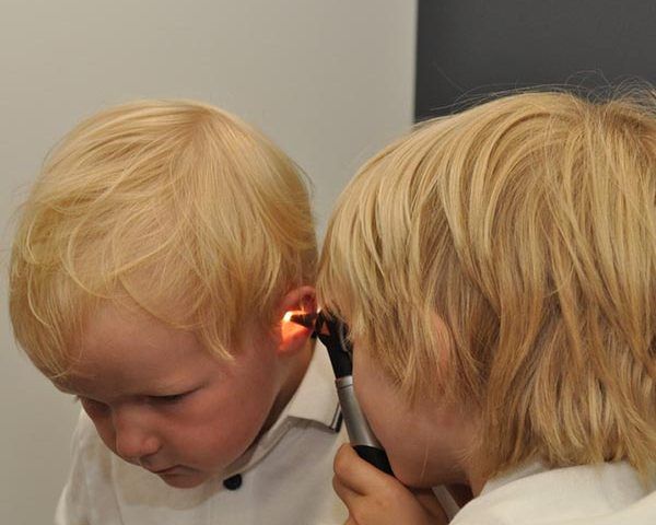 Boys Hearing Test