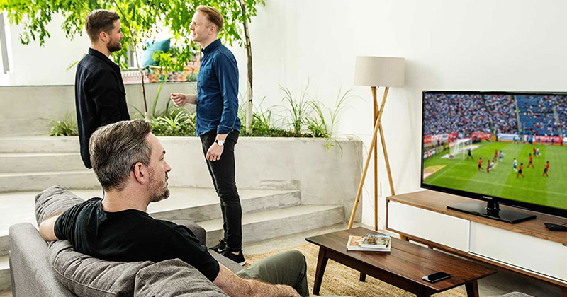 Assistive devices for the TV