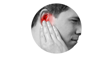Moving your ear cause discomfort
