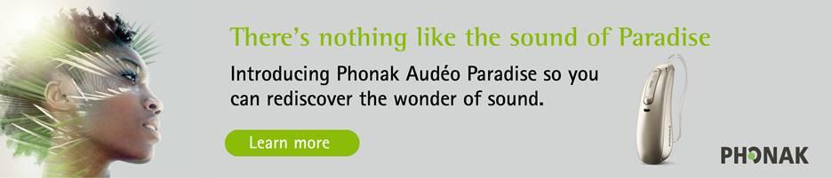 Phonak Audeo Paradise Hearing Aids