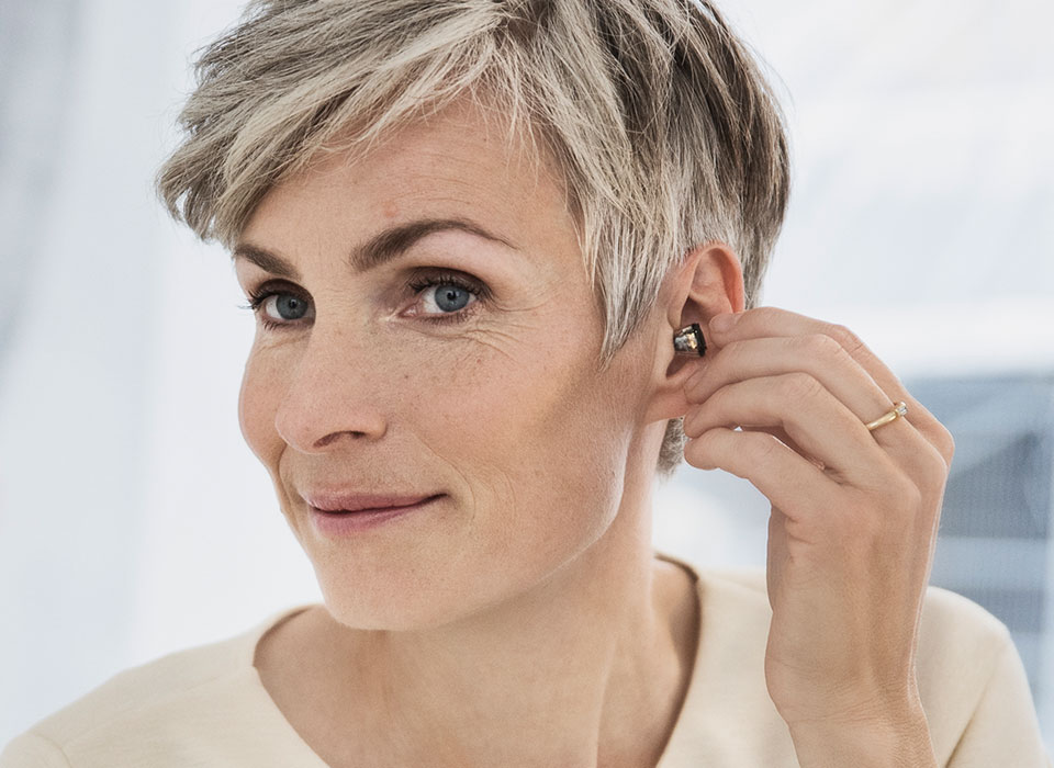 Oticon in the ear hearing aids