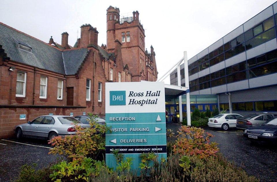 Lanarkshire Hearing Centre Ross Hall Hospital